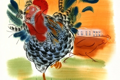 Shannon Jeffries Art_free_world_chicken