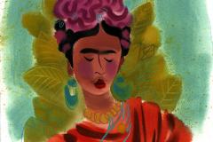 Shannon Jeffries Art_Frida