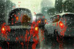 Shannon Jeffries Art_rain_car