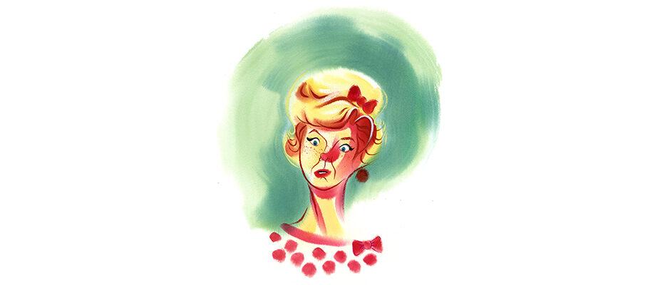 Shannon Jeffries Character Art - Doris