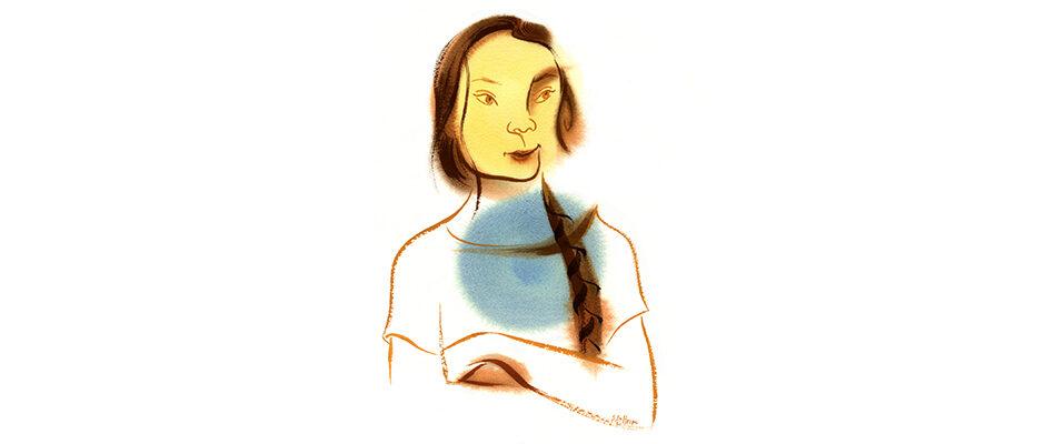 Shannon Jeffries Character Art - Greta