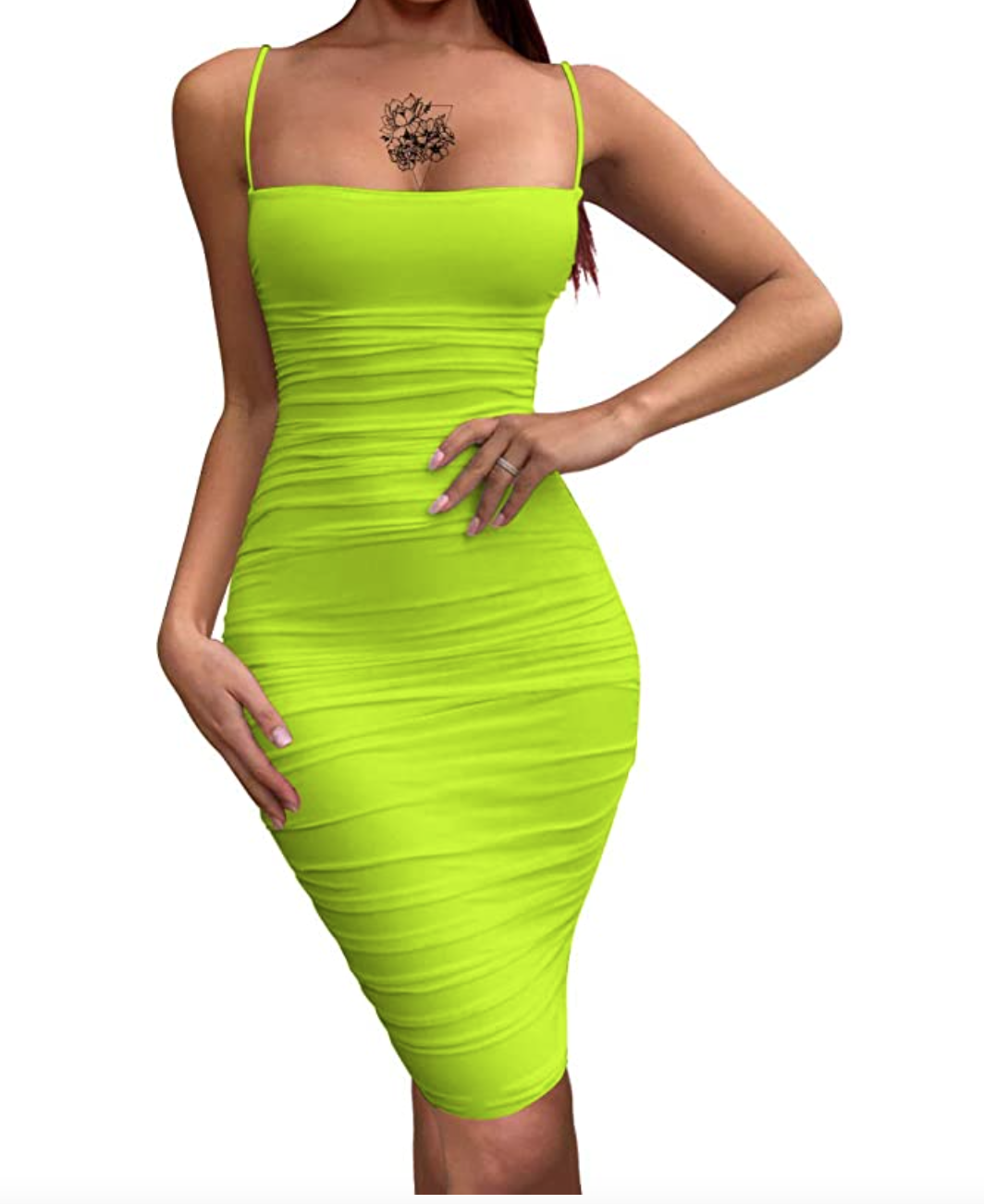 BEAGIMEG Women's Bodycon Mini Dress