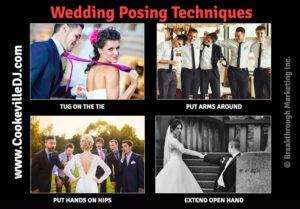 wedding posing techniques