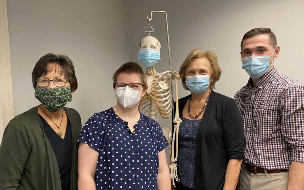 Lexington Physical Therapy Associates staff photo with masks