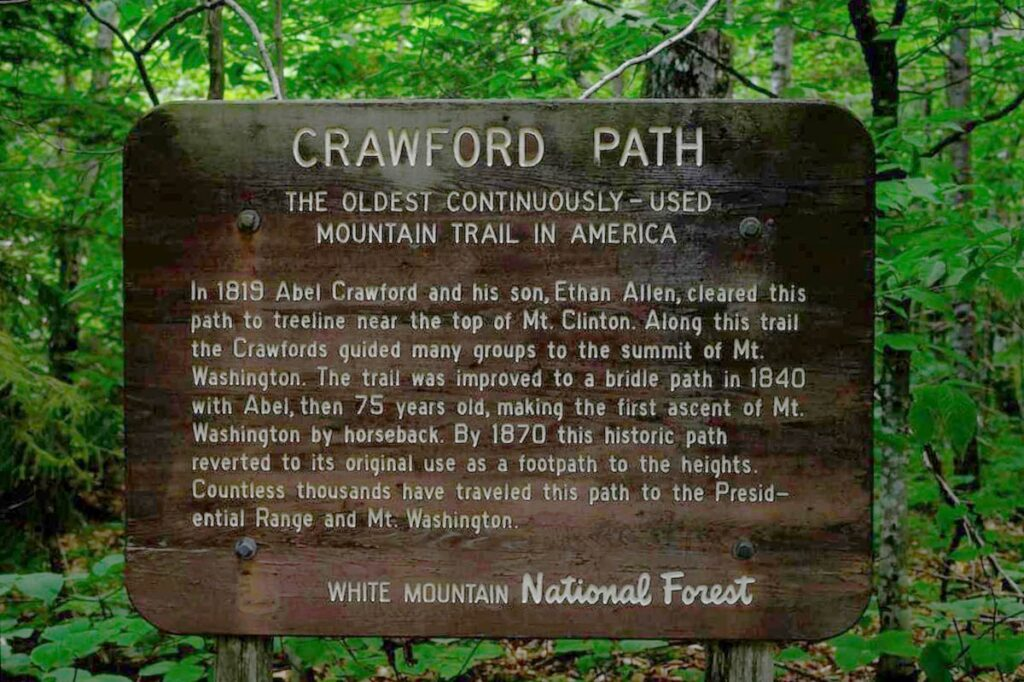As the oldest continuously maintained hiking trail in America, Crawford Path is a very special trail for many. In 2018 and 2019 the Crawford Path underwent serious renovations. Twelve different professional partner crews were involved in this effort, and (in 2019) eight volunteer days were also incorporated into the work plan.
