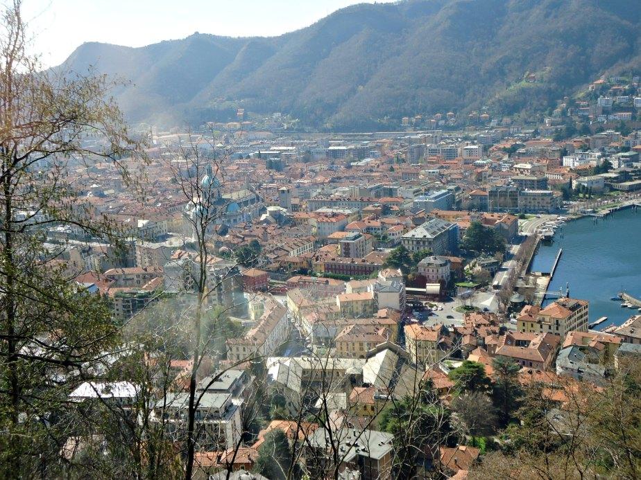 Historic Como from the Funicolare