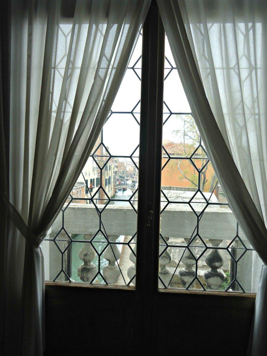 View From Ca' Rezzonico Dorsoduro Venice