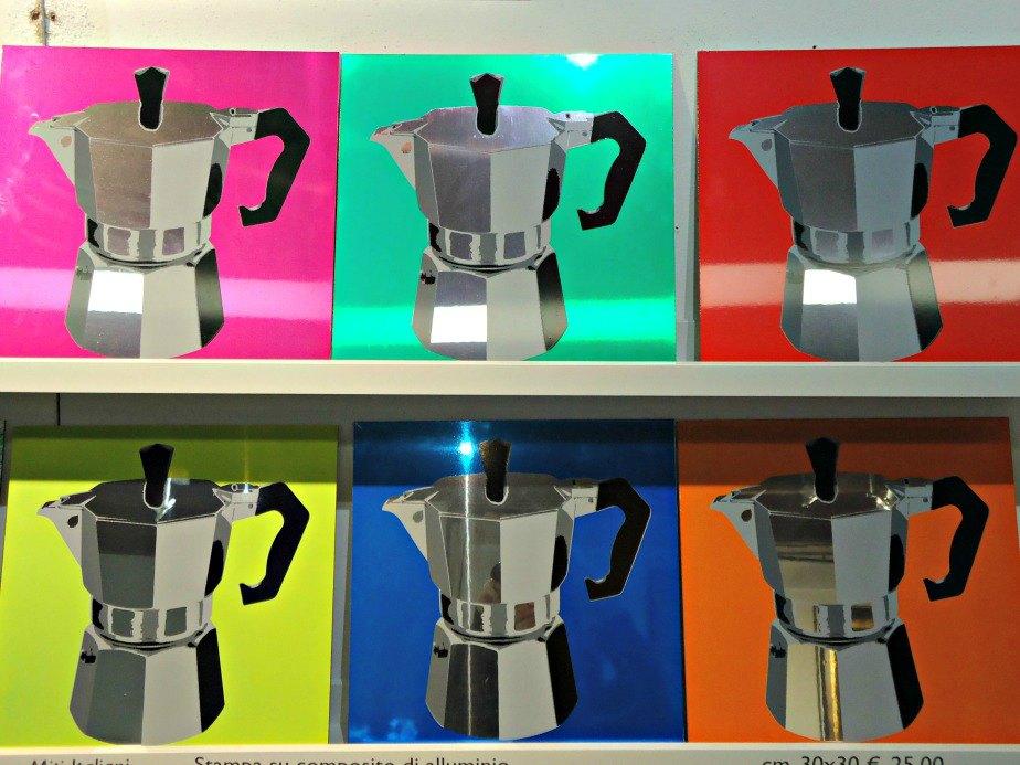 Warholesc Coffee Pots taken in Dorsoduro Venice Italy