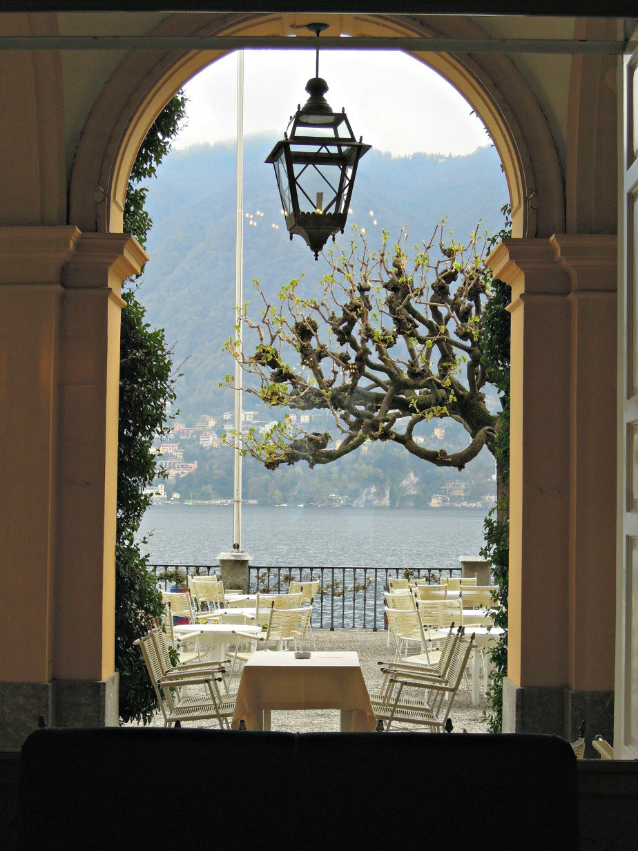Villa D'Este Tearrace Bar Cernobbio Lake Como Italy