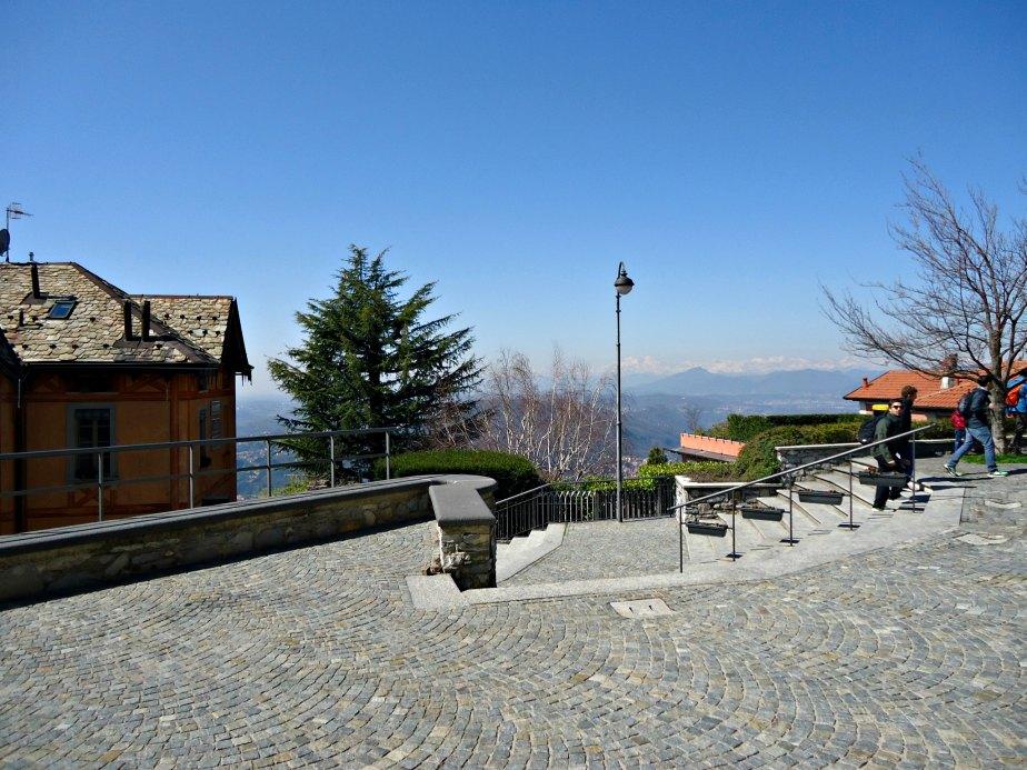 Square Outside Chiesa Sant' Andrea Apostolo, Brunate