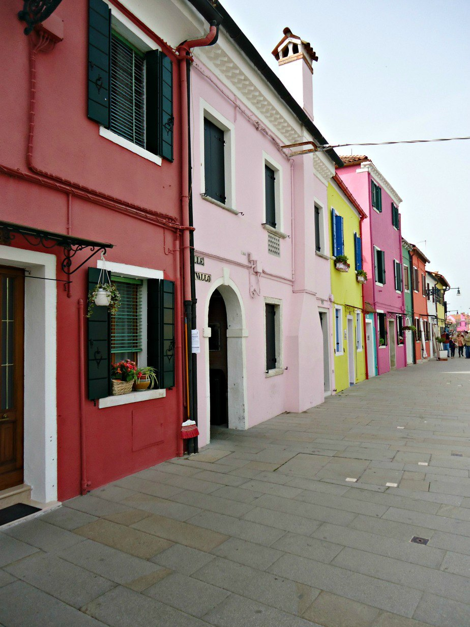 Colourful Houses in Burano Venice