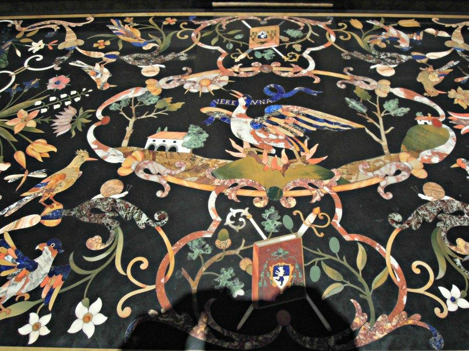 Tapestry in Ca' Rezzonico Dorsoduro Venice