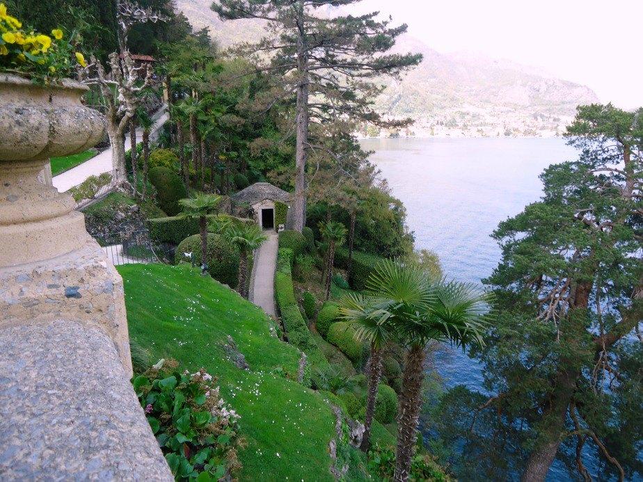 Burial Place of Guido Monzino at Villa del Balbianello Lake Como Italy