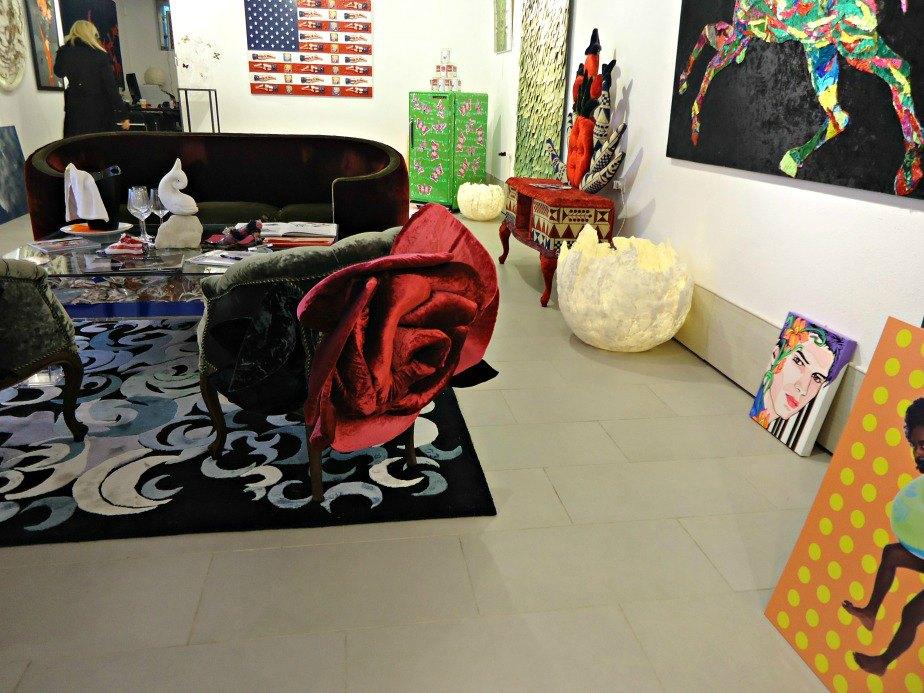 An Eclectic Gallery taken in Dorsoduro Venice Italy