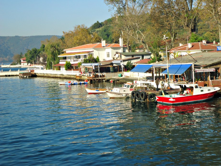 Seafood Restaurants at Anadolu Kavagi