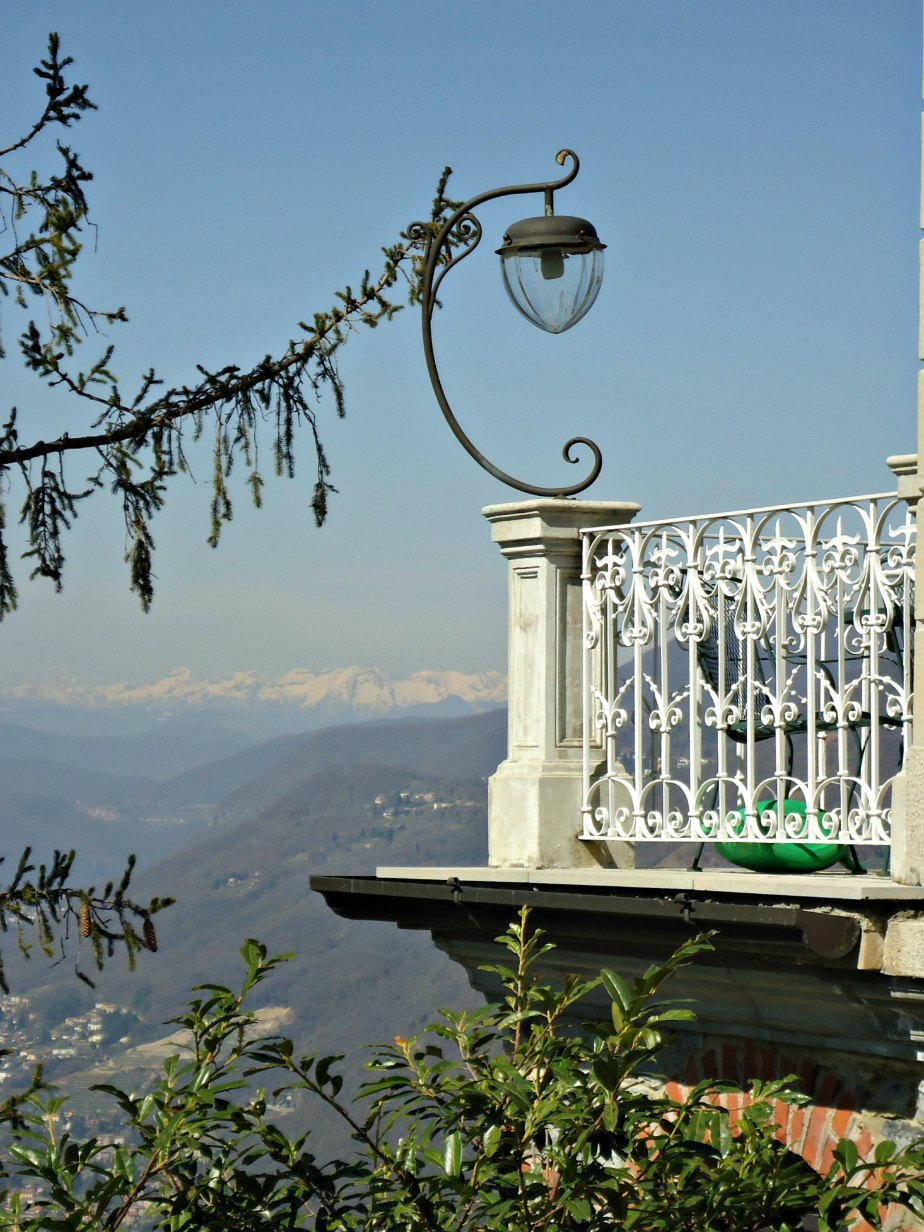 Looking Towards the Alps from Brunate