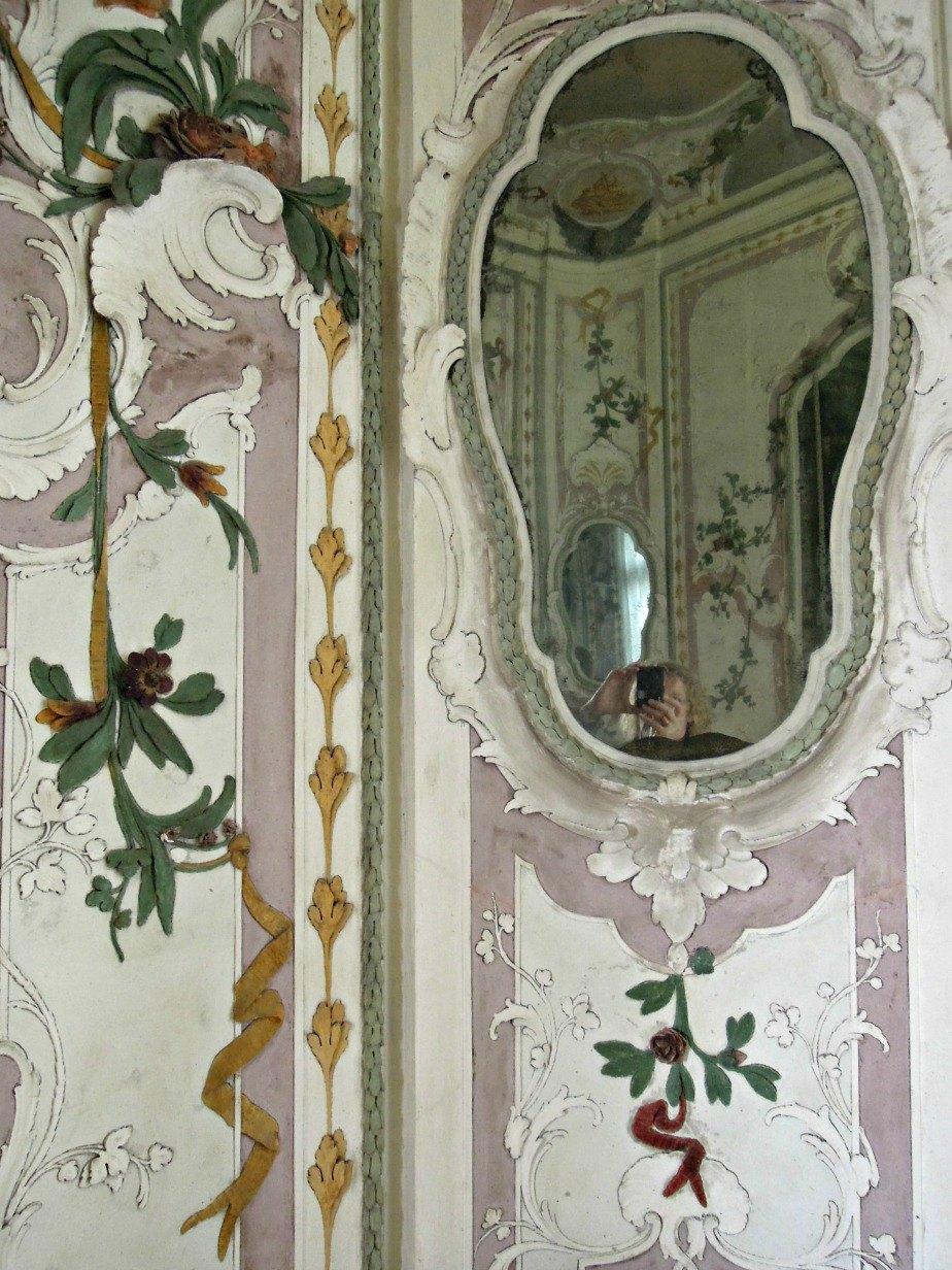 Dressing Room at Ca' Rezzonico Dorsoduro Venice