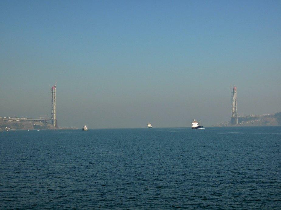 Yavuz Sultan Selim Bridge Ends