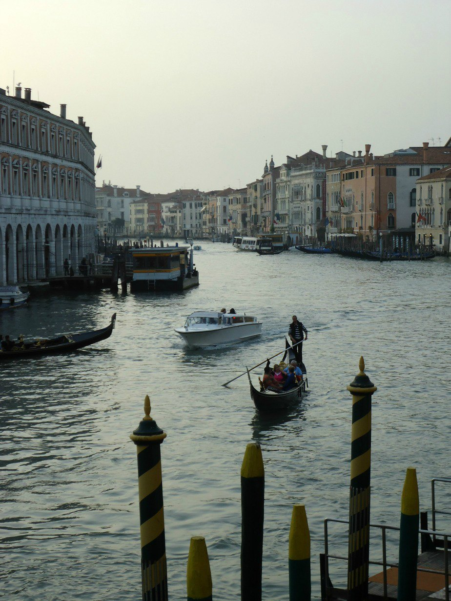 Image of The Grand Canal Venice Italy