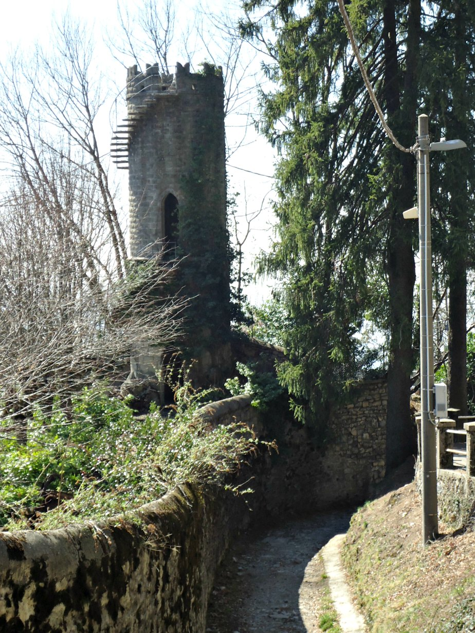 Medieval Tower in Brunate Como Italy