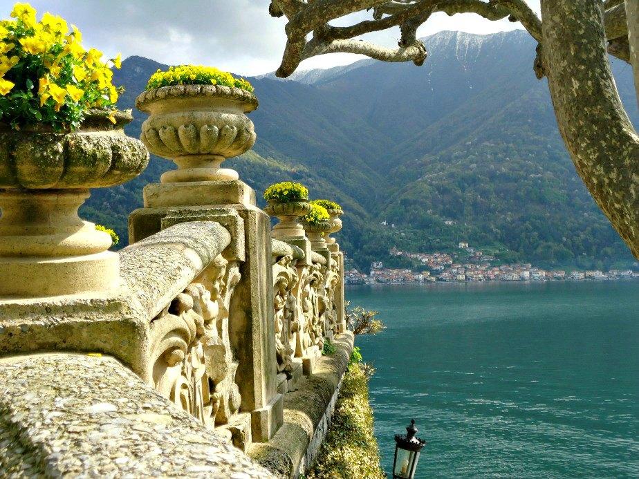 Villa del Balbianello Terrace Wall Lake Como Italy