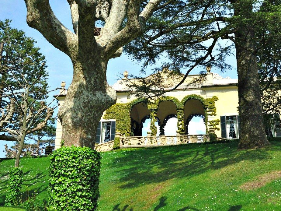 The Map Room at Villa del Balbianello Lake Como Italy