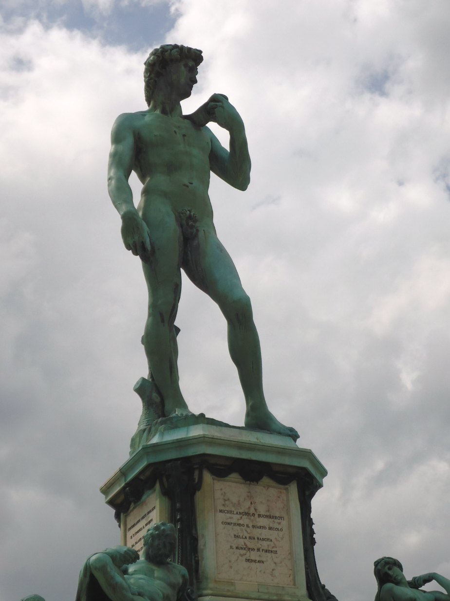 Bronze David at Piazzale Michelangelo