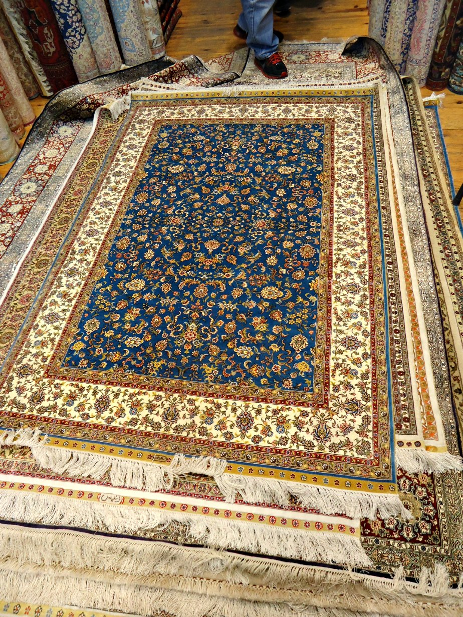 The growing pile of Turkish Rugs