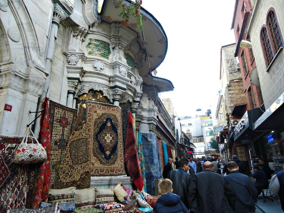 Walking from the Grand Bazaar