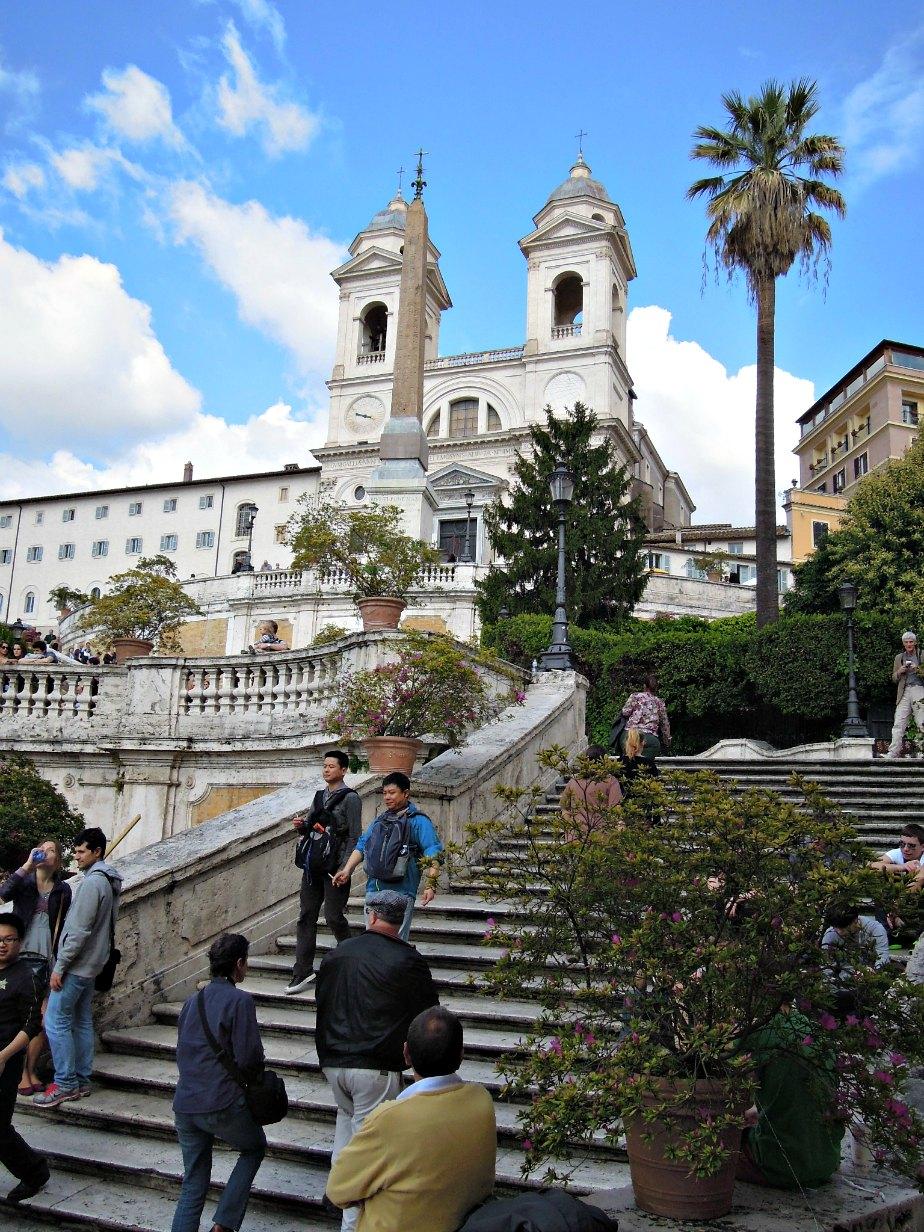 Spanish Steps & Trinita dei Monti