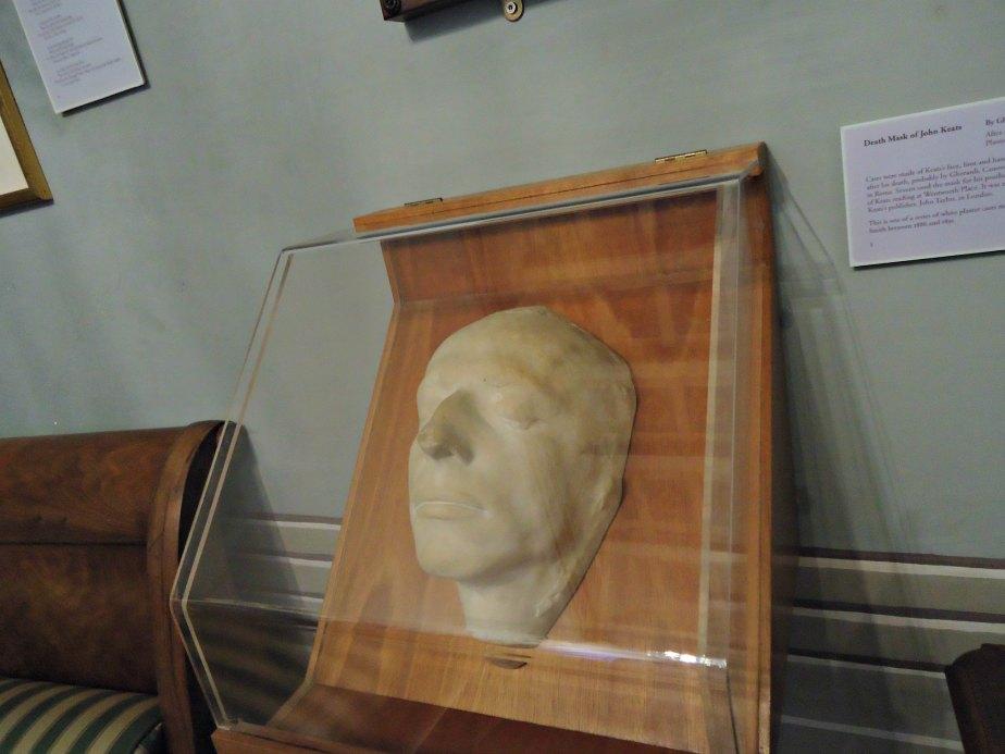 Keats' Death Mask
