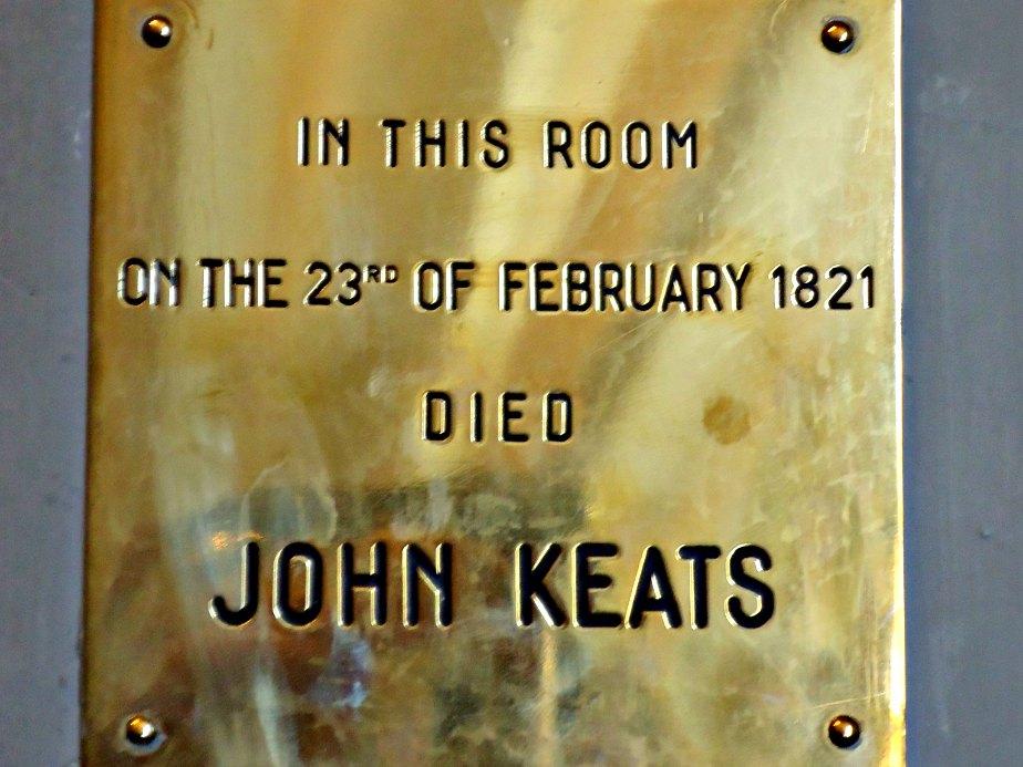 John Keats Death