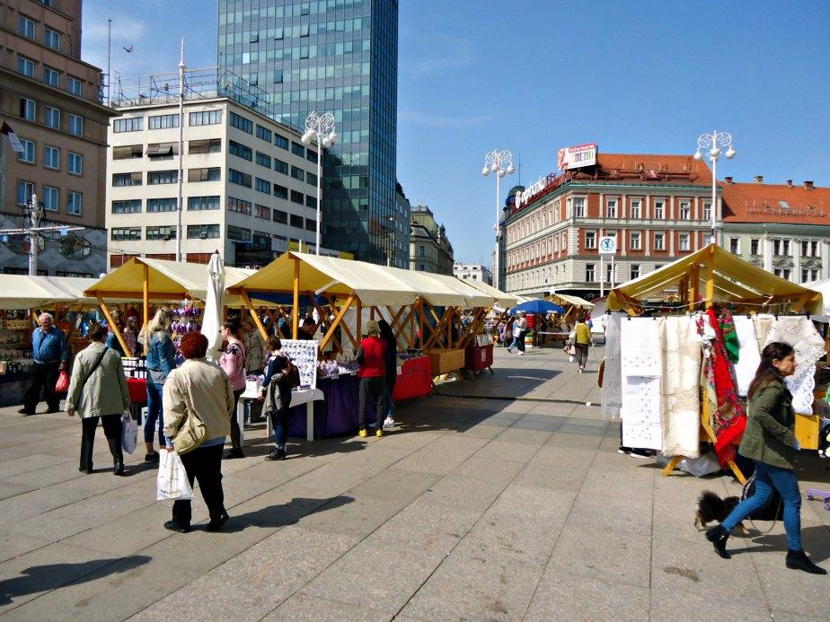 Zagreb Main Square Markets