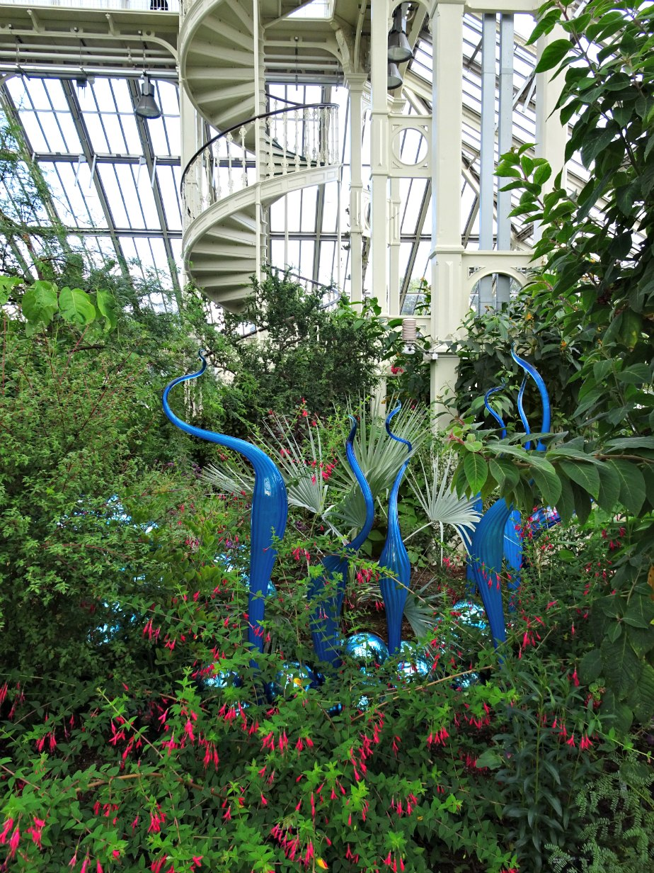 Chihuly in the Temperate House, Kew Gardens