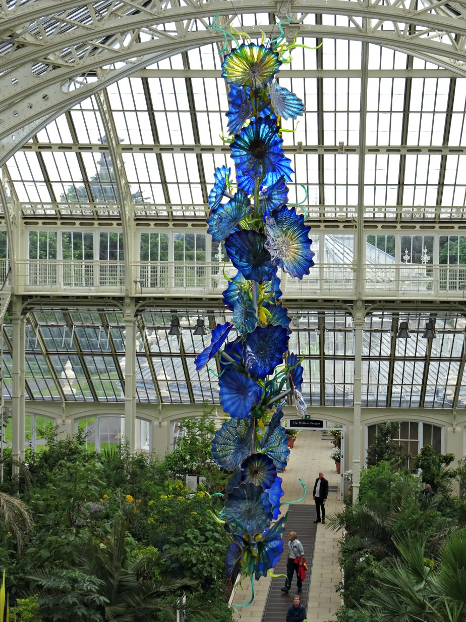 Chihuly Glass Sculpture, Kew Gardens