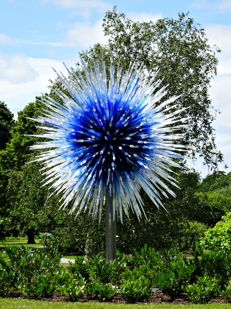 Chihuly Saphire Star, Kew Gardens