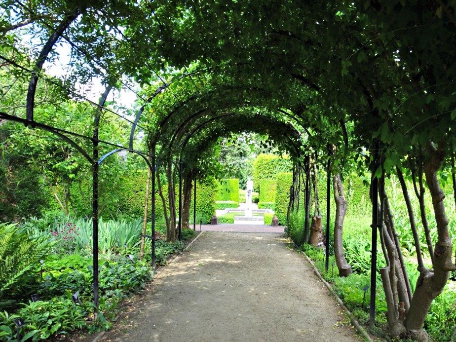 Trellis in Kew Palace Garden