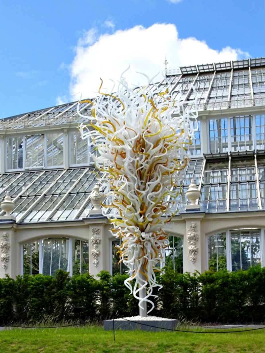 Chihuly Opal & Amber Towers, Kew Gardens