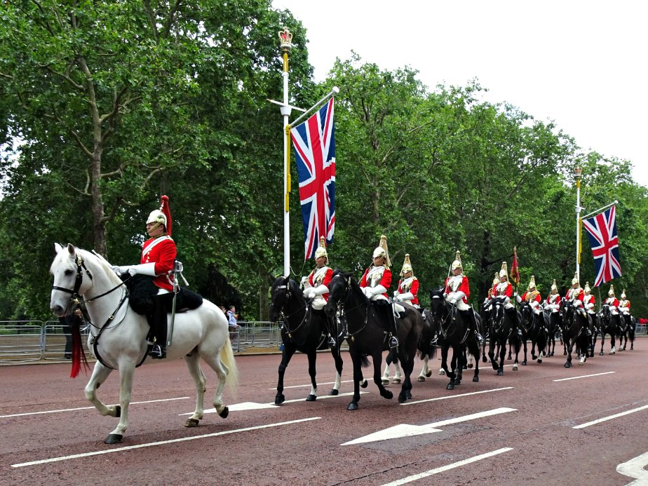 London Royal Horseguards on The Mall