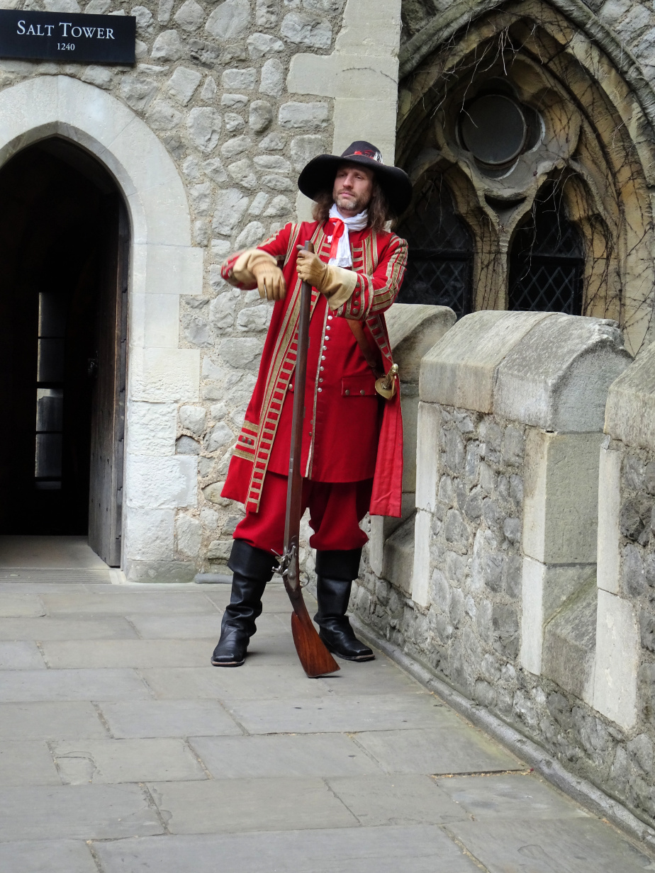 An Actor on the Tower Battlements