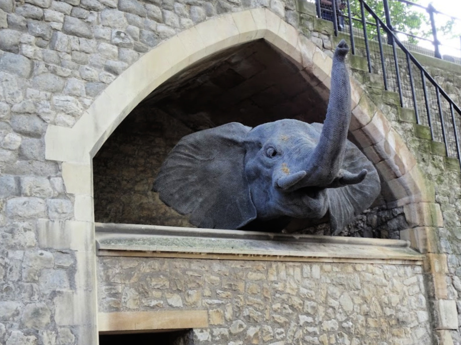 Elephant at the Tower