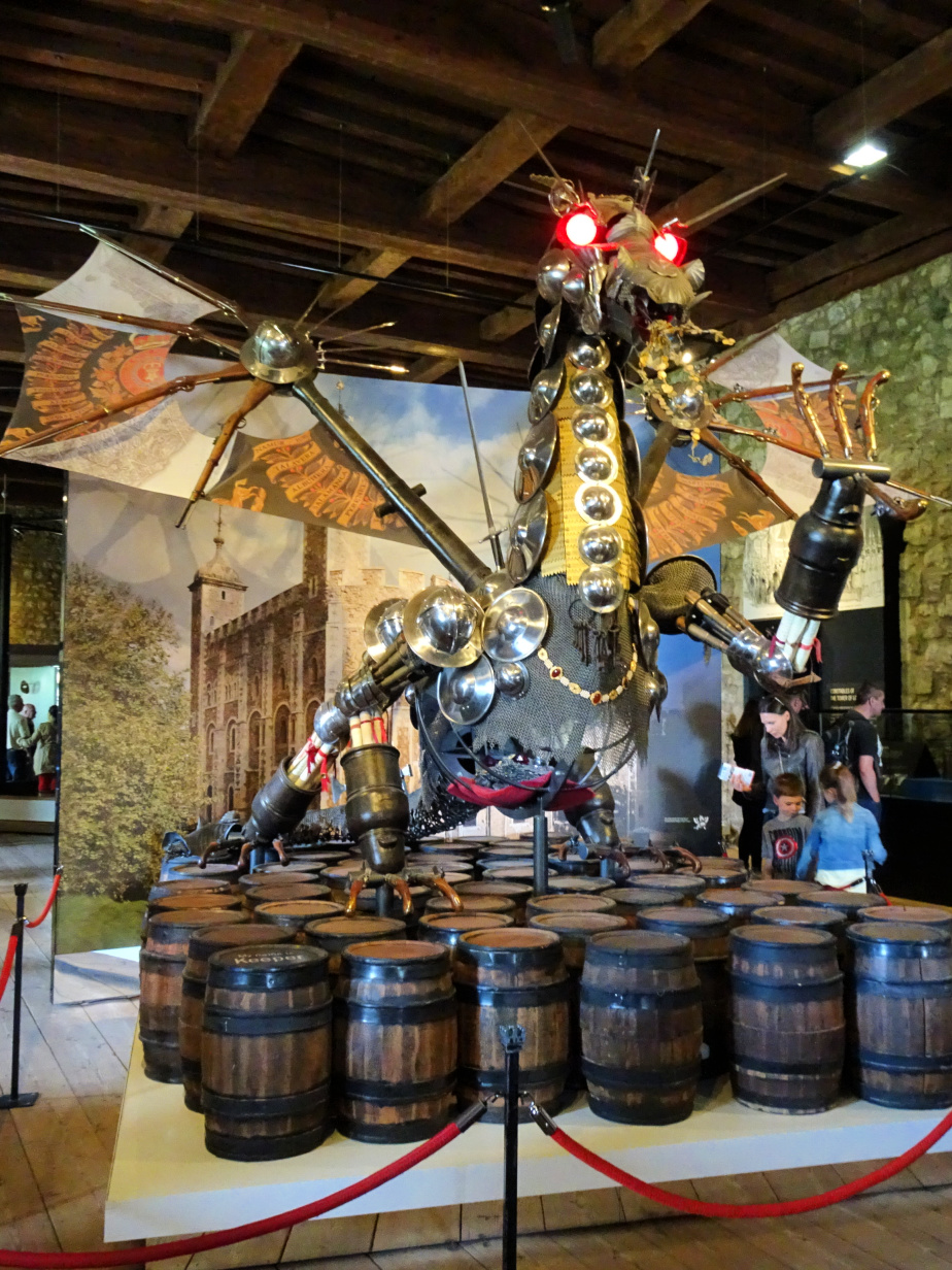 Tower Dragon at The Armoury