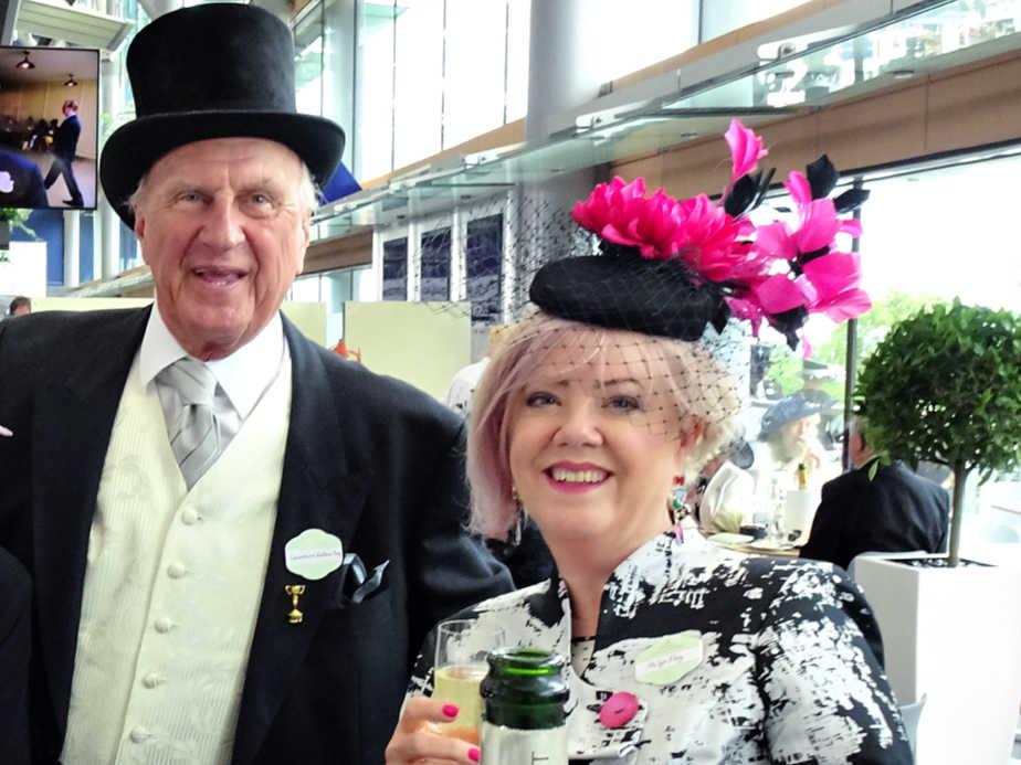 Lyn & Laurence at Royal Ascot
