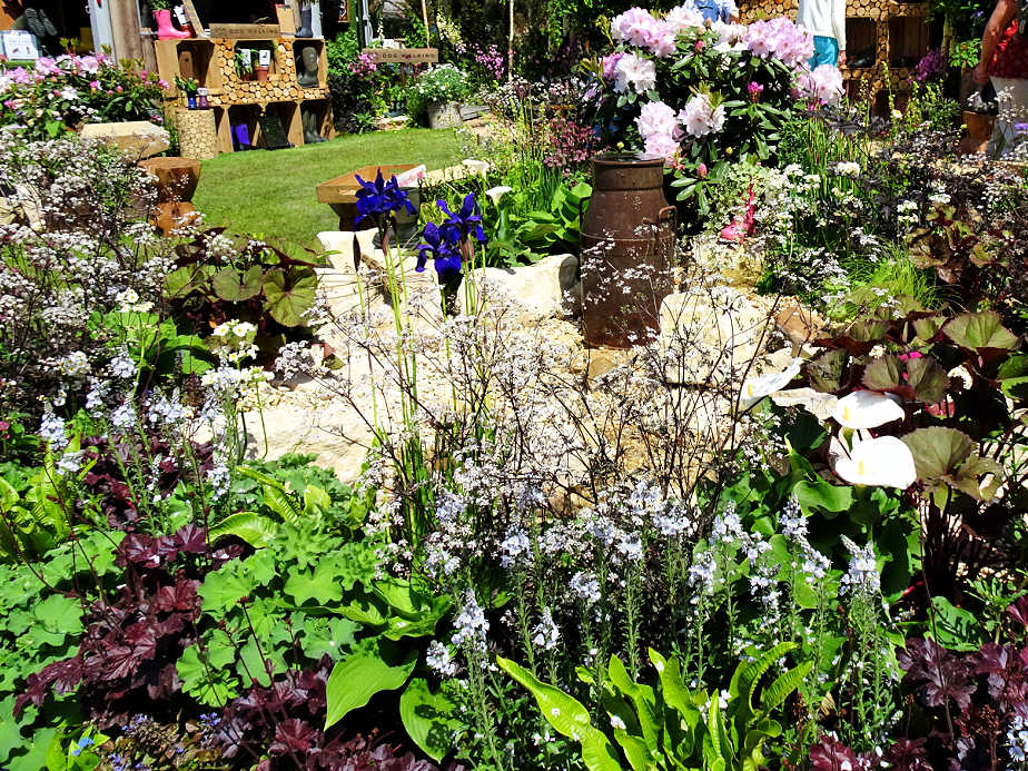 Garden at the Chelsea Flower Show