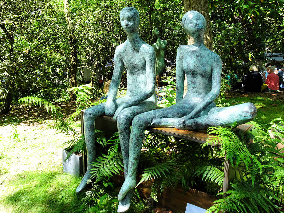 Garden Sculptures at the Chelsea Flower Show