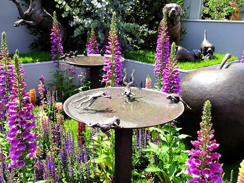 Bird Bath at the Chelsea Flower Show