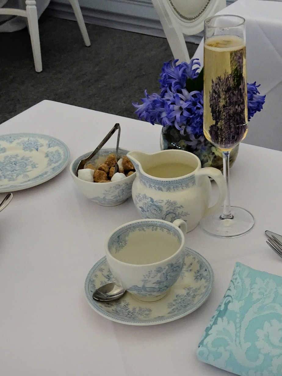 Wedgewood Tea Service at the Drawing Room, Chelsea Flower Show