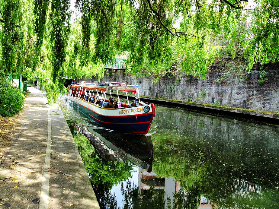 Long Boat on Regent's Canal