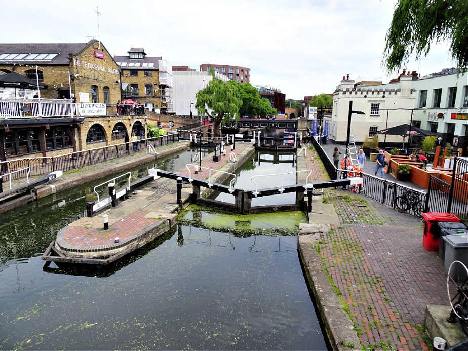 Pubs Overlooking Camden Lock