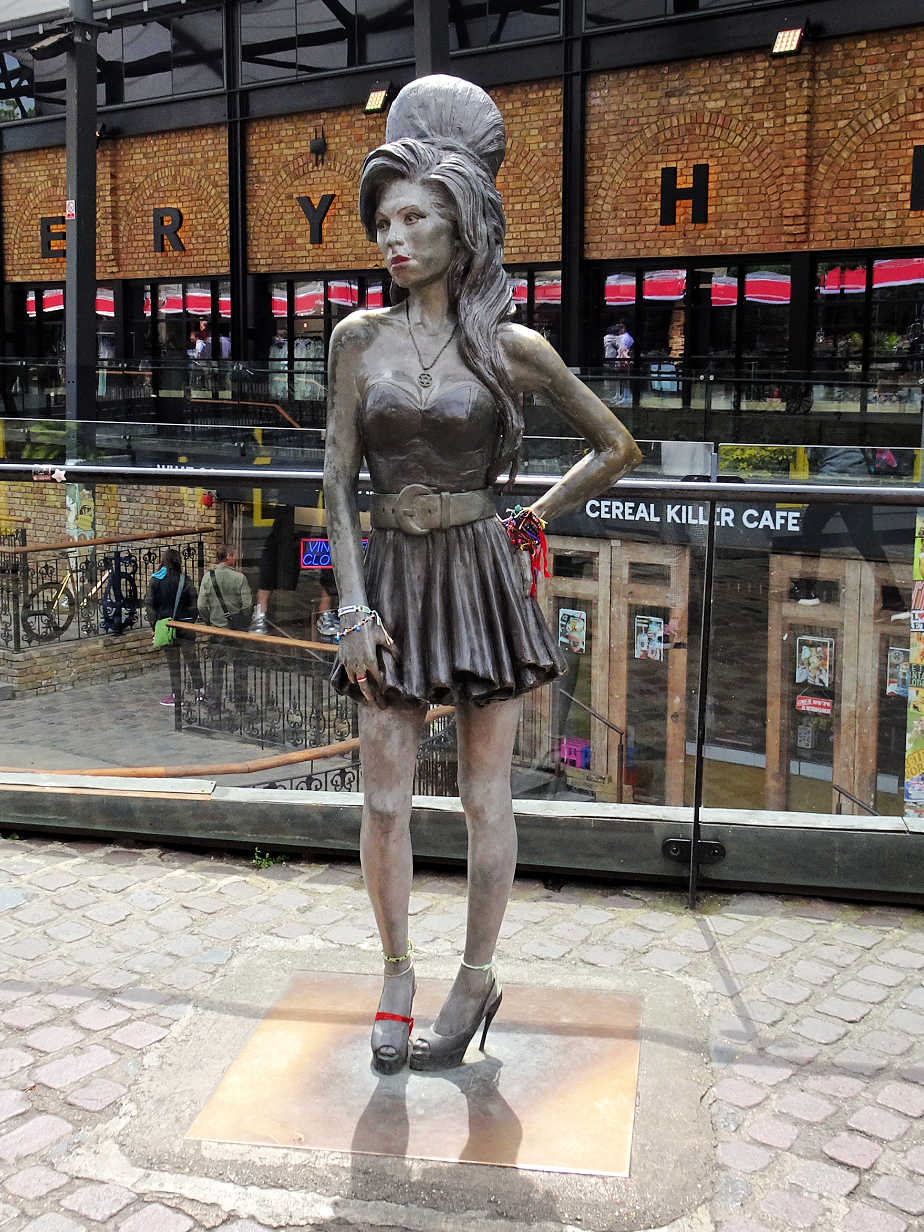 Amy Winehouse in her Home Town Forever